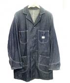 BLUE BLUE(ブルーブルー)の古着「デニムワークコート」 ネイビー