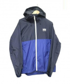HELLY HANSEN(ヘリーハンセン)の古着「ナイロンジャケット」|ネイビー