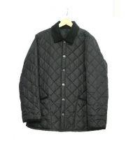 Barbour(バブアー)の古着「キルティングジャケット」 ブラック