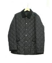 Barbour(バブアー)の古着「キルティングジャケット」|ブラック