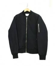 Adam et Rope(アダム エ ロペ)の古着「MA-1ジャケット」|ブラック