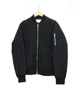 Adam et Rope(アダム エ ロペ)の古着「MA-1ジャケット」 ブラック