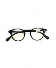 OLIVER PEOPLES(オリバーピープル)の古着「眼鏡」|ブラック