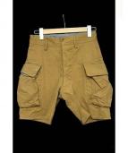 The FRANKLIN TAILORED(ザ・フランクリンティラード)の古着「41khaki Cargo Shorts」|カーキ