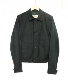 PRADA(プラダ)の古着「ナイロンジャケット」 ブラック