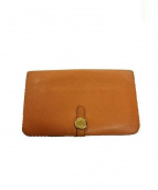 HERMES(エルメス)の古着「長財布」|オレンジ