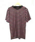 SUPREME(シュプリーム)の古着「Multi Stripe Terry Tee」|レッド
