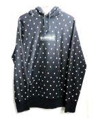 Supreme×CDG SHIRT(シュプリームxコムデギャルソンシャツ)の古着「BOX LOGO HOODIE」|ブラック