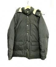 Pherrows(フェローズ)の古着「中綿ダウンジャケット」 グレー