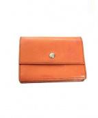 HERMES(エルメス)の古着「カードケース」|オレンジ