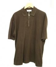 BRUNELLO CUCINELLI(ブルネロ クチネリ)の古着「ポロシャツ」|ブラウン