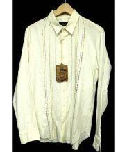 Enharmonic TAVERN(エンハーモニック・タヴァーン)の古着「装飾長袖シャツ」|ベージュ