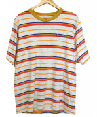 SUPREME(シュプリーム)の古着「Multi Stripe Terry Tee」|ライトグレー