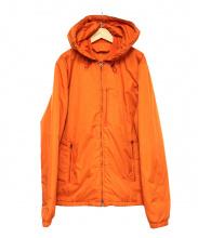 Acne studios(アクネストゥディオズ)の古着「フーデット中綿ジャケット」|オレンジ