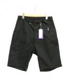 THE NORTHFACE PURPLELABEL(ザ・ノースフェイス パープルレーベル)の古着「Stretch Twill Shorts」|ブラック