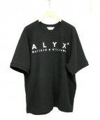 ALYX(アリクス)の古着「半袖カットソー」|ブラック