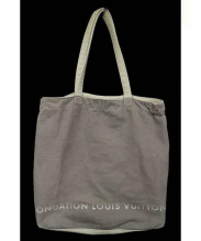 FONDATION LOUIS VUITTON(ファウンデーション ルイ・ヴィトン)の古着「トートバッグ」|グレー
