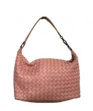 BOTTEGA VENETA(ボッテガ ベネタ)の古着「ワンショルダーバッグ」 ピンク
