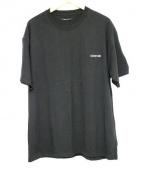 Clair de lune(クレア ドゥ リュンヌ)の古着「Tシャツ」 ブラック