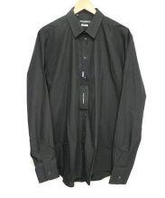 DOLCE & GABBANA(ドルチェ&ガッバーナ)の古着「ドレスシャツ」|ブラック