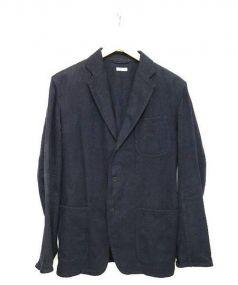 COMOLI(コモリ)の古着「テーラードジャケット」 ネイビー