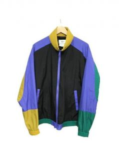 doublet(ダブレット)の古着「ナイロンジャケット」|ブラック×パープル