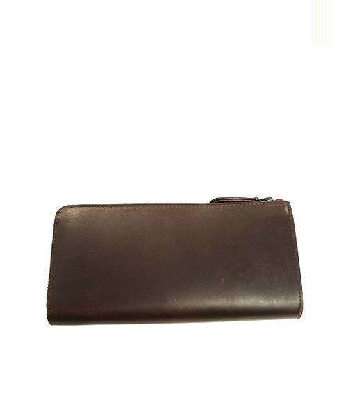 new concept 0883c feaad [中古]NOMADOI(ノマドイ)のメンズ 服飾小物 ラウンドファスナーカウレザー長財布