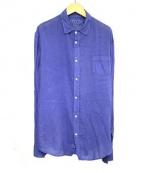 Frank&Eileen(フランクアンドアイリーン)の古着「長袖シャツ」|パープル