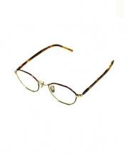 KEARNY(カーニー)の古着「伊達眼鏡」|ブラウン