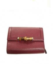 GUCCI(グッチ)の古着「3つ折り財布」|パープル