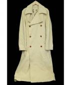 45rpm(45アールピーエム)の古着「ロングトレンチコート」|ベージュ
