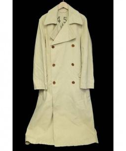 45rpm(45アールピーエム)の古着「ロングトレンチコート」 ベージュ