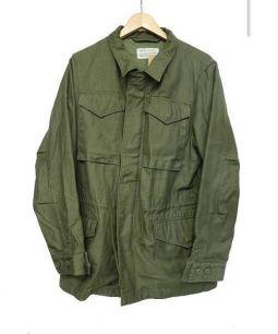 HOUSTON(ヒューストン)の古着「ミリタリージャケット」|オリーブ