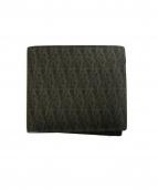 SAINT LAURENT PARIS(サンローラン パリ)の古着「2つ折り財布」|ブラック×ブラウン