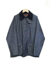 68&BROTHERS×M.V.P.(シックスティエイトアンドブラザーズ×エムブイピー)の古着「ジップジャケット」|ネイビー
