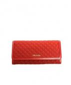 PRADA(プラダ)の古着「財布」|レッド(FUOCO)
