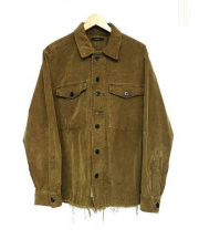 DIESEL(ディーゼル)の古着「コーデュロイジャケット」|ブラウン
