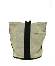 HERMES(エルメス)の古着「バケツ型ワンハンドルハンドバッグ」|ベージュ