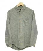 SNOWPEAK(スノーピーク)の古着「ウールシャツ」|グレー