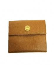 BVLGARI(ブルガリ)の古着「3つ折り財布」|ブラウン