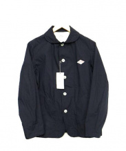 DANTON(ダントン)の古着「丸襟シングルジャケット」|NAVY