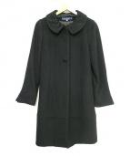 MS GRACY(エムズグレイシー)の古着「ウールコート」|ブラック