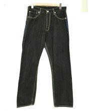 LEVIS FENOM(リーバイスフェノム)の古着「ラインストーン付デニムパンツ」 ブラック