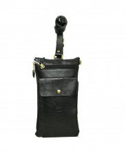 IL BISONTE(イルビゾンテ)の古着「ボディーバッグ」|ブラック