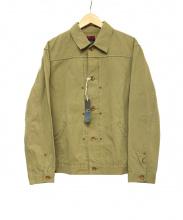 BRU NA BOINNE(ブルーナボイン)の古着「ダーラデニムジャンパー」|ベージュ