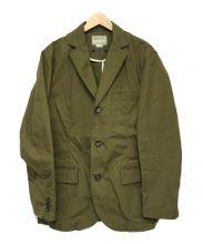 HOUSTON(ヒューストン)の古着「テーラードジャケット」|ブラウン