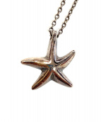 Tiffany & Co.(ティファニー)の古着「スターフィッシュモチーフネックレス」|シルバー