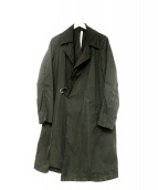 DENIME(ドゥニーム)の古着「グランテックスタイロッケンコート」|ブラック