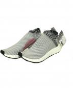 adidas(アディダス)の古着「ハイテクスニーカー」|グレー