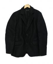 FRANK LEDER(フランクリーダー)の古着「ジャーマンレザージャケット」|ネイビー